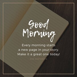 Good morning ochtendroutine voor een succesvol leven