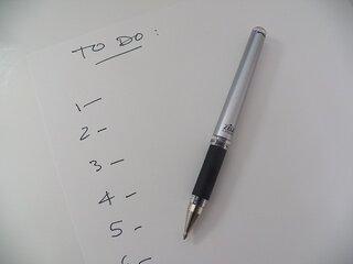 tips om productiever te worden: to do list maken