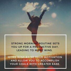 ochtendroutine voor een succesvol leven